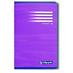 Cahier petits carreaux broché Calligraphe Ligne 7000 A5+ Assortiment 192 Pages   96 Feuilles