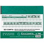 Registre SCI Compta Exacompta Exacompta 110 g