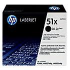 Toner HP D'origine 51X Noir Q7551X