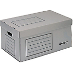 Container pour boites archives Niceday Gris 54 x 33,5 x 25,3 cm 10 Unités