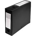 Boites de classement à pression Exacompta Opaque A4 80 mm Noir