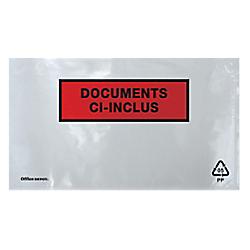pochettes documents ci inclus office depot ci inclus c7 220 x 110 mm 250 unites par office depot. Black Bedroom Furniture Sets. Home Design Ideas
