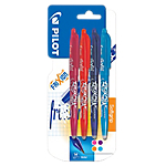 4 stylos à bille   Pilot   Frixion   Assortiment Fun