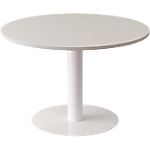 Table ronde Paperflow EasyOffice 1150 x 1150 x 750 mm Blanc