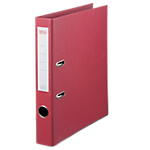 Classeur à levier Office Depot Plasticolor 50 mm Carton 2 anneaux A4 Bordeaux