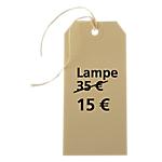 Étiquettes américaines APLI Crème 51 x 100 mm 1000 Unités