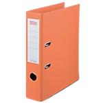 Classeur à levier Office Depot Plasticolor 80 mm Polypropylène 2 Anneaux A4 Orange