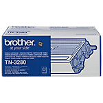 Toner TN 3280 D'origine Brother Noir Noir
