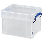 Boîte de rangement Really Useful Boxes 3 3 litres 16 (H) x 24,5 (l) cm Transparent