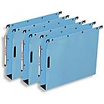 Dossiers suspendus ELBA Velcro Bleu 25 Unités