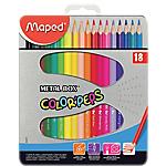 Crayons de couleur Maped Color'Peps Assortiment   18 Unités