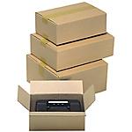 Caisse carton Carton 150 x 100 mm Kraft   15 Unités