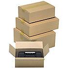 Caisse carton Carton 150 (l) x 100 (H) mm Kraft   15 Unités