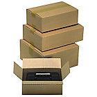 Caisse carton Carton 350 (l) x 250 (P) x 100 (H) mm Kraft   15 Unités