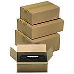 Caisse carton Carton 500 x 300 x 150 mm Kraft   15 Unités