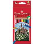 Crayons de couleur Faber Castell Grip 2001   12 Unités