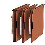 Dossiers suspendus ELBA Kraft Velcro 30 mm Orange 25 Unités