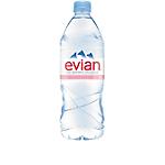 Eau minérale Evian Naturelle Non aromatisé   12 Bouteilles de 1 L