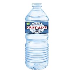 Eau minérale Naturelle Non aromatisé Cristaline 50 - 24 Bouteilles de 500 ml