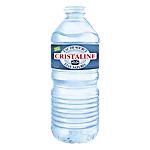 Eau minérale Cristaline Naturelle Non aromatisé   24 Bouteilles de 500 ml