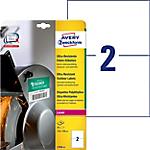Étiquettes ultra résistantes AVERY Zweckform L7916 10 A4 Blanc 148 x 210 mm 10 Feuilles de 2 Étiquettes