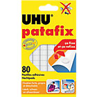 Pastilles adhésives UHU patafix Réutilisable, Amovible Blanc   80 Unités