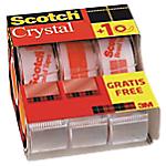 Ruban adhésif Scotch Crystal Léger, Adhésif, B3 Transparent 1,9 cm
