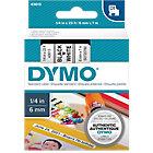 Ruban d'étiquettes DYMO D1 43613 6 mm x 7 m Noir, blanc