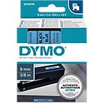 Ruban d'étiquettes DYMO D1 40916 9 mm x 7 m Noir, bleu