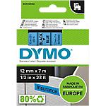 Ruban d'étiquettes DYMO D1 45016 12 mm x 7 m Noir, bleu