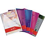 Protège documents ELBA Vision PVC 20 Pochettes A4 Assortiment 5 Unités