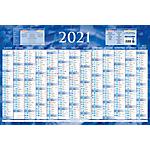 Bouchut Grandrémy Calendrier annuel 2020 43 x 65 cm