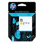 Tête d'impression HP D'origine 11 Jaune C4813A