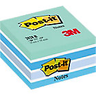 Notes adhésives Post it 76 x 76 mm Bleu   450 Feuilles