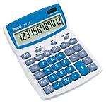 Calculatrice de bureau Rexel ibico 212X 12 Chiffres Bleu, blanc