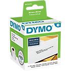 Rouleau d'étiquettes d'adresses DYMO 99010 89 (L) x 28 (l) mm Blanc   2 Rouleaux de 130 Étiquettes
