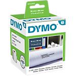 Rouleau d'étiquettes d'adresses DYMO 99112 36 x 89 mm Blanc   2 Rouleaux de 260 Étiquettes