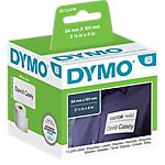 Etiquettes d'adresse DYMO LabelWriter LW 54 x 101 mm Blanc   220 Étiquettes