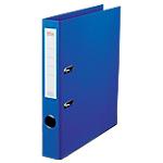 Classeur à levier Office Depot Plasticolor 50 mm Carton 2 Anneaux A4 Bleu