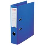 Classeur à levier Office Depot Plasticolor 80 mm Polypropylène 2 Anneaux A4 Bleu