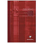 Cahier de bord Clairefontaine A4 Bord Metric 72 Pages 110 g