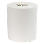 Bobine d'essuie mains Office Depot Eco 2 épaisseurs Blanc   6 Rouleaux de 450 Feuilles