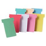 Fiches T cartonnées Carton Nobo 8,5 (H) x 6 (l) cm   100 Unités