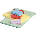 Fiches cartonnées T3 Carton fibre vierge Nobo 1,5 x 9,2 cm   100 Unités