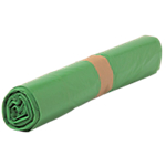 Sacs poubelle biodégradables 50 L Vert 68 x 80 cm   500 Unités