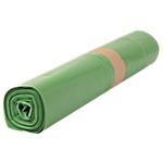 Sacs poubelle biodégradables 100 L Vert 82 x 95 cm   200 Unités