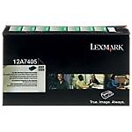 Toner 12A7405 D'origine Lexmark Noir