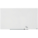 Tableau blanc Nobo Widescreen Verre Blanc brillant 126 x 71 cm