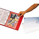 Pochettes fourre tout pour classeur Esselte 411200 A4+ Transparent   5 Unités