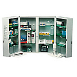 Équipement pour armoire à pharmacie pour 8 personnes ESCULAPE